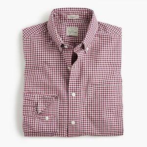 J. Crew Secret Wash Classic Fit Button-down Shirt